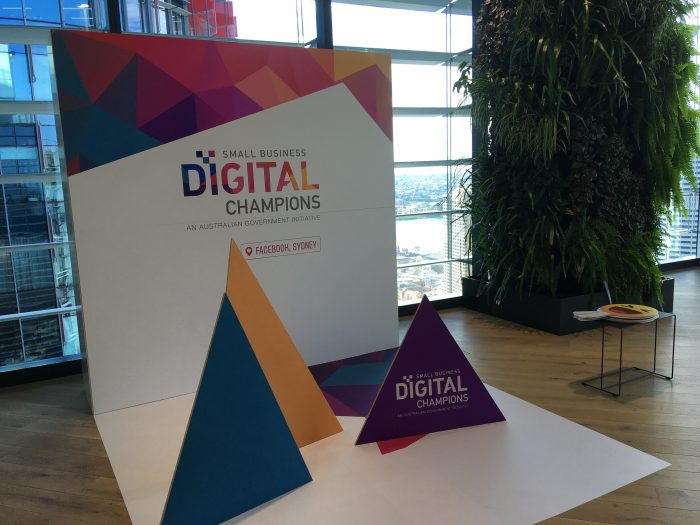 Digital Champions signage