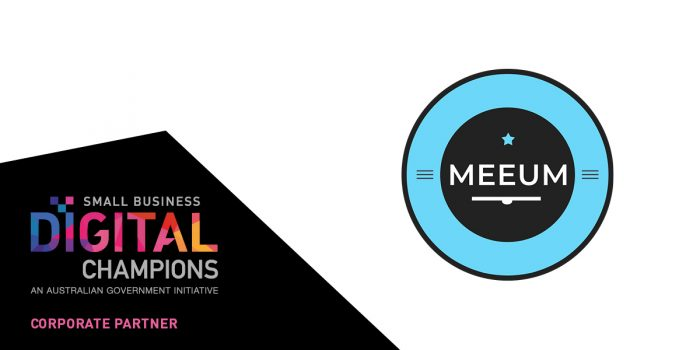 Meeum corporate partner to Small Business Digital Champions program.
