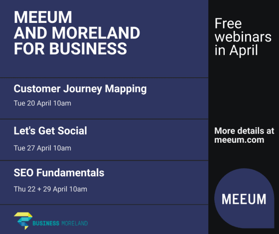Meeum amd Moreland April webinars